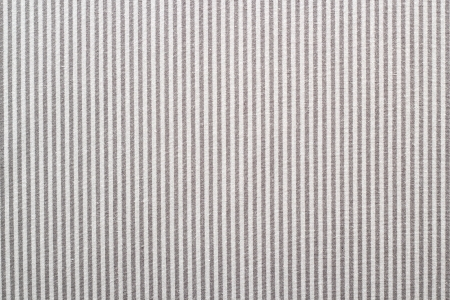 banding: textured shirt material - fabric with gray and white parallel stripes Stock Photo