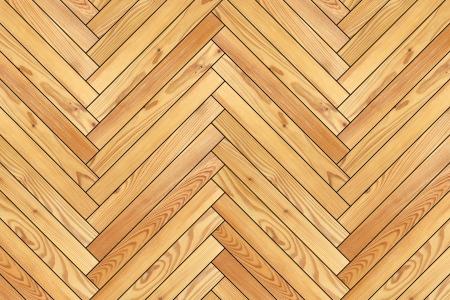 parquet floor: beige new parquet design mounted on the floor, black background Stock Photo
