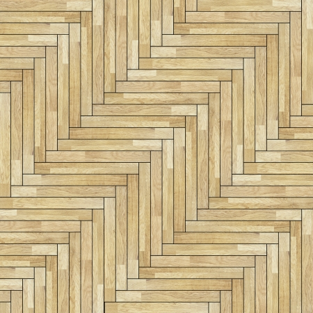 design of parquet pattern made from wooden  tiles mounted at an angle photo