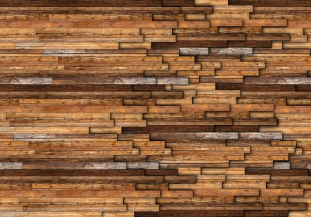 abstract pattern of wooden floor or wall made from mahogany boards photo