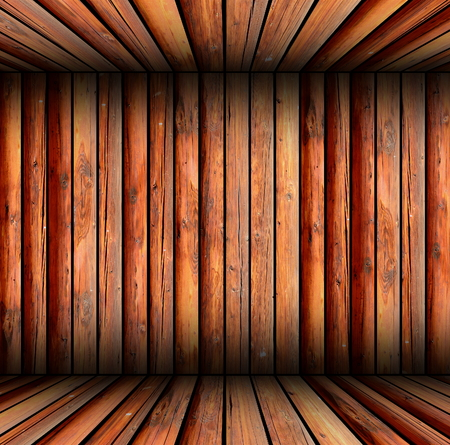 indoor wooden structure forming backdrop for your design photo