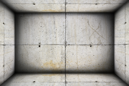 unfinished concrete  industrial interior backdrop for your design photo