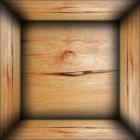 abstract box interior wood background, plywood texture photo
