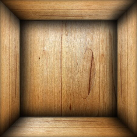 plywood: abstract interior of plywood box, empty wood finished room backdrop