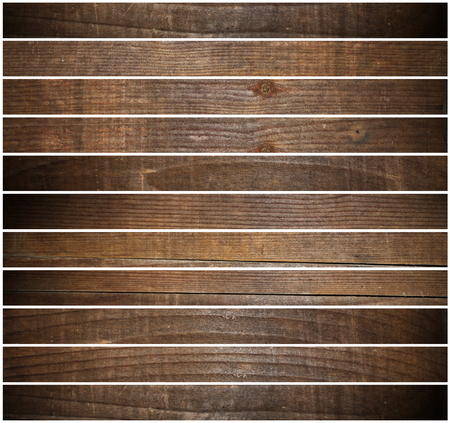 beautiful wooden floor backdrop, planks isolated on white photo
