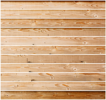 pieces of furniture: tiles of wood floor isolated on white background for your floor design Stock Photo