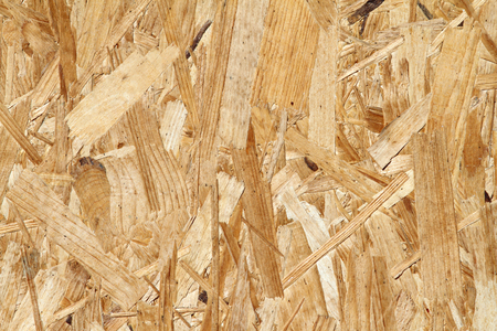 osb: osb seamless texture   orientated strand board   , an engineered wood product Stock Photo