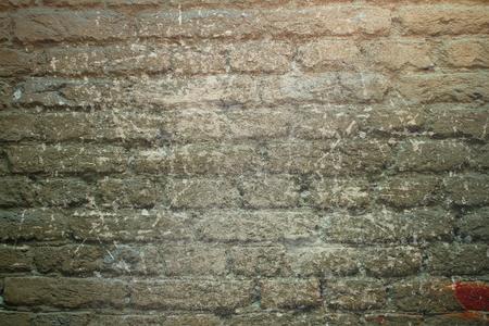 #27003079   Abstrakte Verwitterte Mauer Am Äußeren Der Alten, Verlassenen  Haus, Grunge Hintergrund