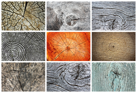 collection of knotty wood textures ready for your design