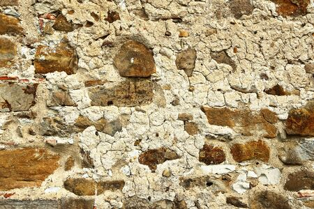 old weathered stone wall, texture for your architectural design