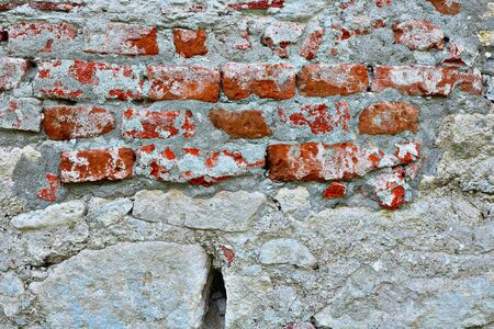 ruined old wall texture ready for your design 스톡 콘텐츠