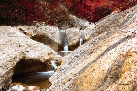 impressive moutain stream in Apuseni mountains, la Gavane