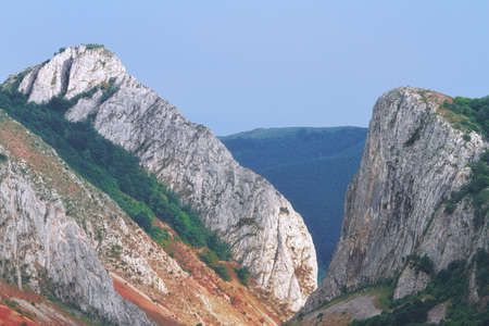 beautiful view of Aiudului gorges, Apuseni mountains