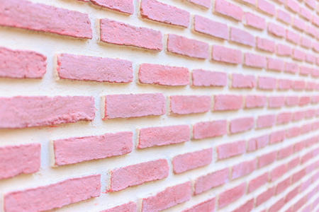 punctuate: Close up of brick wall texture