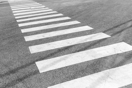 senda peatonal: Cruce