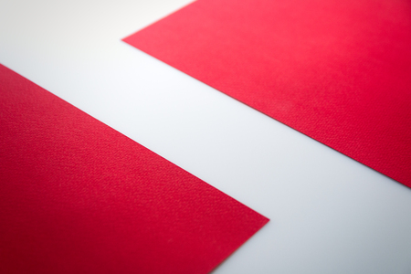 wallpaper International Women s Day: Zigzag red white, space for text