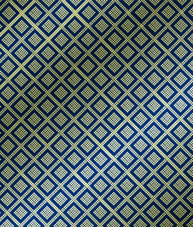 seta thailandese: Thai pattern su seta.