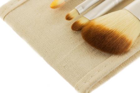 blush: Blush Brush isolated on white background Stock Photo