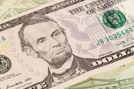 us paper currency: image of us paper currency Stock Photo