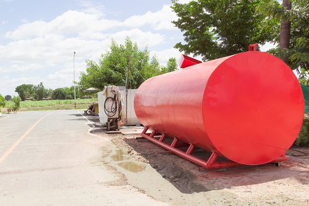 fuel storage: Photo of fuel storage tank
