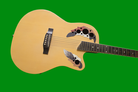alte: an image of classical guitar Stock Photo