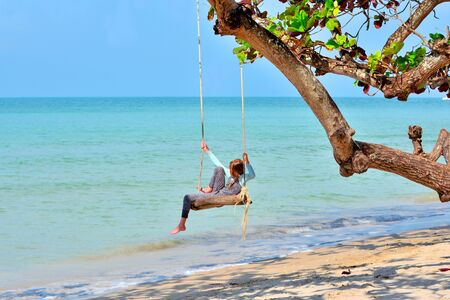 Swinging holiday pictures