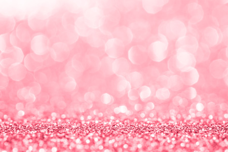 gold colour: Pink glitter for abstract background
