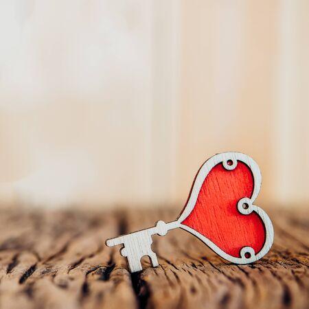 Valentines Day background with love heart. Reklamní fotografie