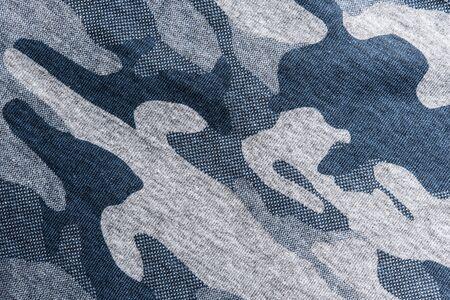 Großansicht des Militärs gleichmäßige Oberfläche, abstrakten Hintergrund.