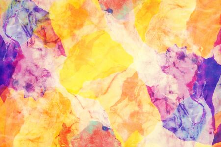 Closeup of colorful clay texture for abstract background.