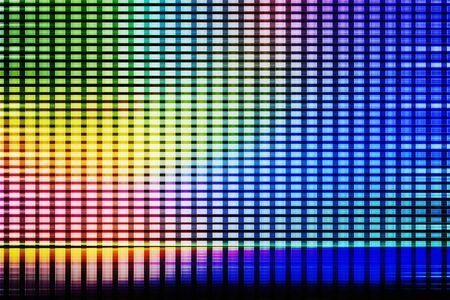 Abstract background from colorful screen. Technology background concept. 写真素材