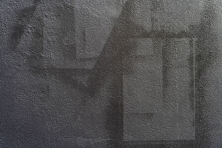 Abstract background from black color painted on grey concrete. Retro and vintage background. Archivio Fotografico - 132123298