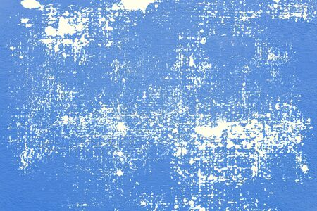 Blue concrete texture wall for abstract background. Banco de Imagens