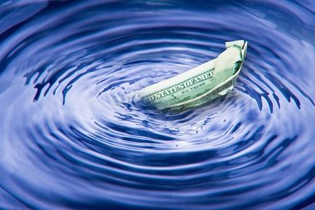 reflections on the global economy. Stock Photo - 9796896
