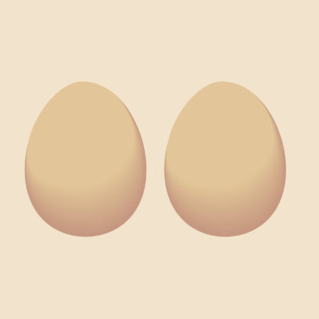 life giving birth: Vector egg Illustration
