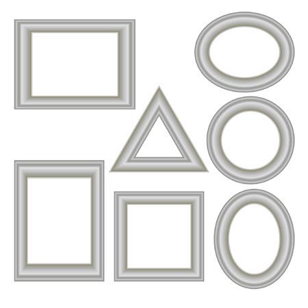 silver frame: silver frame set