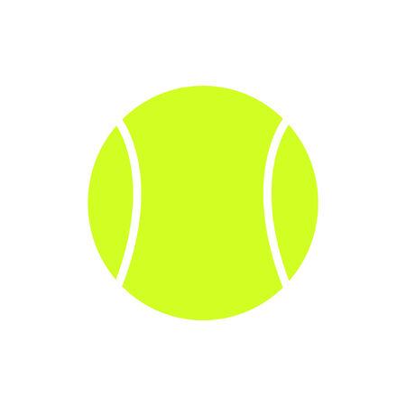 tennisbal illustratie Stock Illustratie