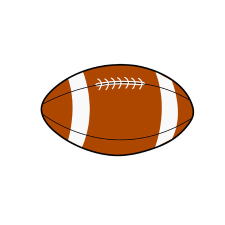 rugby illustratie Stock Illustratie
