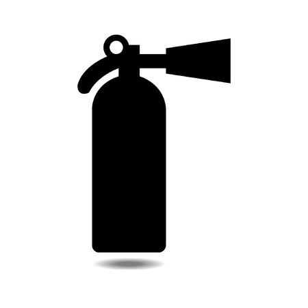 fire extinguisher: extinguisher icon