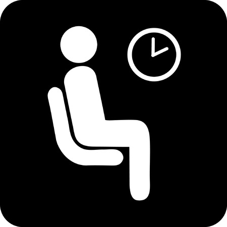 waiting room icon Vector