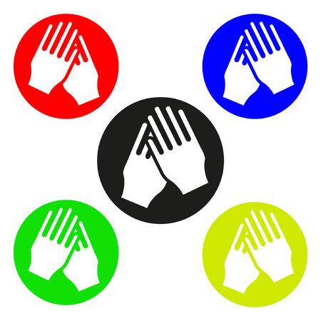 lavarse las manos: wash_hands icono