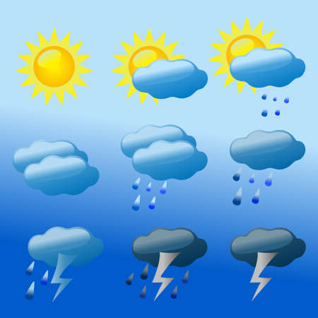weather vector Vector