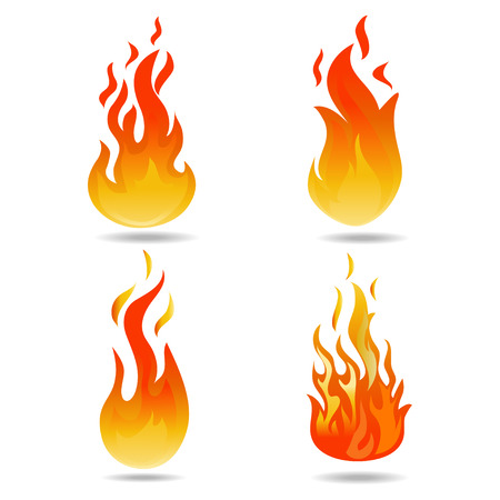 Feuer Vektor Vektorgrafik