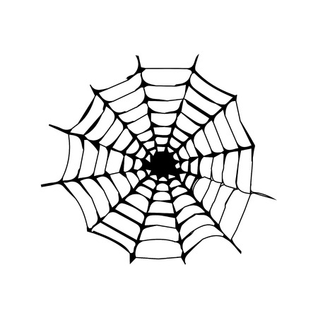 spinnenweb vector