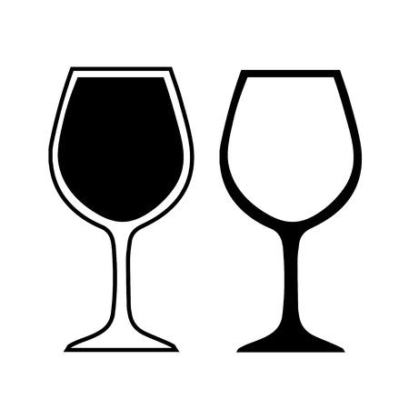 copa de vino: vaso
