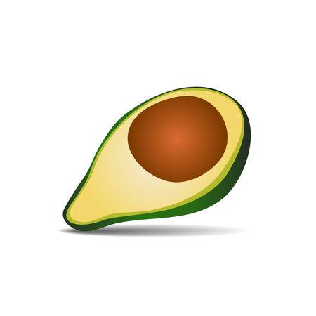 avocado: vector Avocado