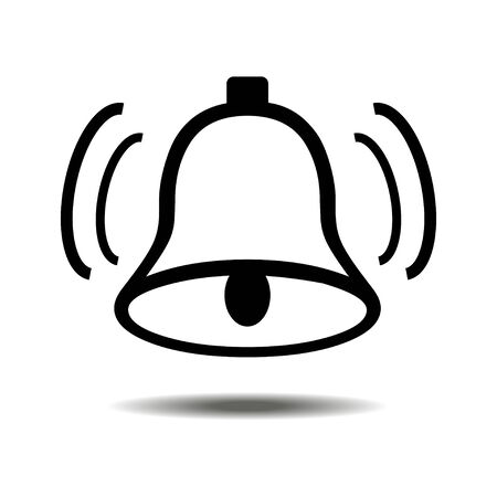 door bell: Vector Bell Icon