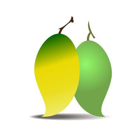 venereal: vector mango Illustration