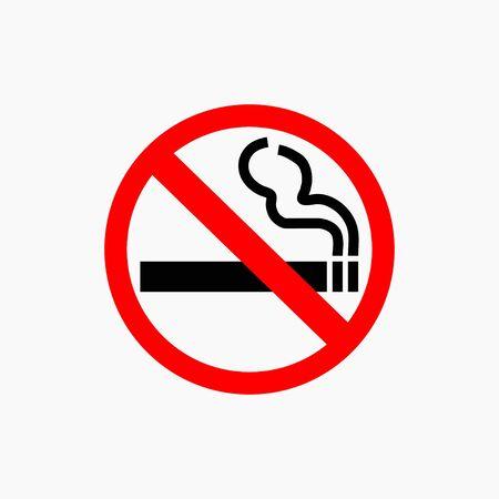 no fumar: ningún icono de fumar Vectores