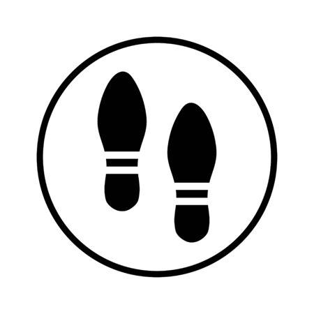 foot print: copie de pied